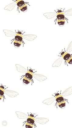 Tumblr yellow gucci bee iphone wallpaper Yellow
