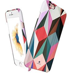 iPhone 6s case slim, Akna Vintage Obsession Series High Impact Slim Hard Case with Soft Fabric Interior for iPhone 6s.