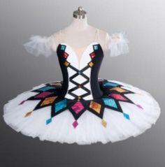 Image result for nutcracker harlequin doll costume