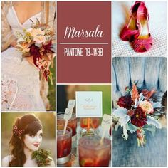 Marsala wedding Decoration ~~~ Boda Navideña ~~~ | NoviasRD