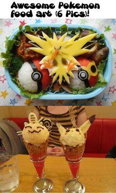 Awesome Pokemon food art (6 Pics)