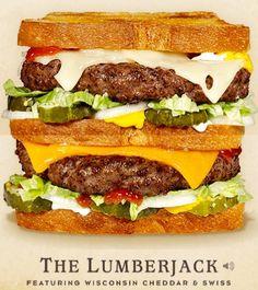 Cheeseburger #3, The LumberJack