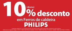 10% Desconto (direto) em ferros de caldeira Philips (numa das nossas lojas físicas)    http://www.radiopopular.pt/familias/peqdomesticos.php#