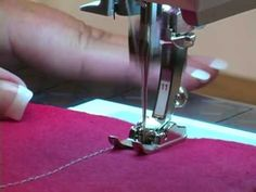 Cordonnet foot # 11 – for precise sewing and topstitching - BERNINA