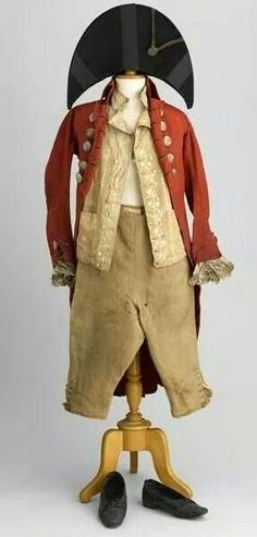 Costume d'incroyable,1790