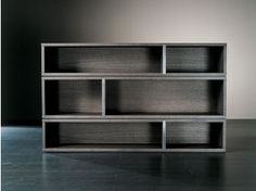 Sectional wooden bookcase JOLY - Meridiani