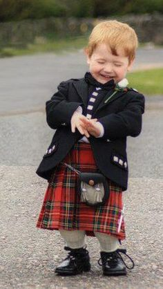 "Wee Jock thought it was ""crack up"" when Dad announced at Fanny's wedding that they were all oot of Irn Bru. Was so funny seein all the weans greet!"