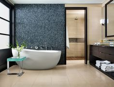 Serene Bathroom by Chris Stone and David Fox | Architectural Digest
