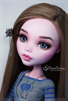 Doll repaint tutorial monster high faces 63 Ideas for 2019 Custom Monster High Dolls, Monster High Repaint, Custom Dolls, Ooak Dolls, Blythe Dolls, Art Dolls, Doll Face Paint, Doll Painting, Doll Crafts