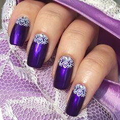 Elegant Manicure by Yagala - Nail Art Gallery nailartgallery.nailsmag.com by Nails Magazine www.nailsmag.com #nailart