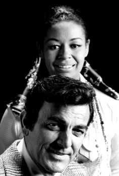 1969 'Mannix', Peggy Fair & Joe Mannix played by Gail Fisher & Mike Connors   ©CBS. I met him in Hawaii in 1974 gf.