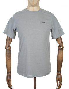 f4de465e Patagonia S/S Nine Trails T-shirt - Drifter Grey Mens Fashion Casual Wear