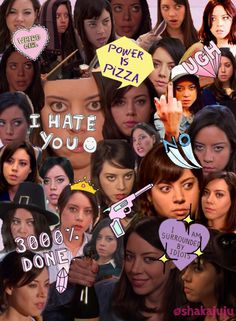 April Ludgate in Parks & Recreation (played by Aubrey Plaza)