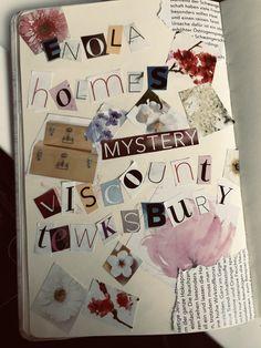 Mystery, Enola Holmes, Anna Karenina, Partridge, Millie Bobby Brown, Sherlock Holmes, Bae, Aesthetics, Bullet Journal