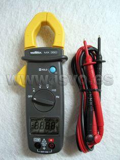 MX350 Pinza multimétrica compacta 400A AC – Compacta y ergonómica, ofrece una excelente manejabilidad y una visualización muy cómoda. www.jsvo.es