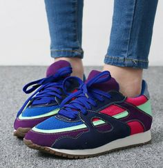 Women's fashion casual shoes low-top gauze breathable sport shoes running sports sneakers 8 $157.96