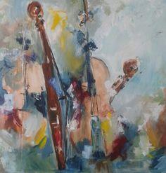 Acryl,  violen - Diana Mol