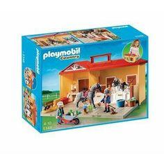 Playmobil 5221 jeu de construction haras avec - Cuisine playmobil 5329 ...