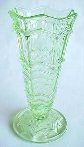 green depression glass - Google Search