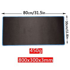 Cheap YINGNEW Ultra Smooth XXL Mouse Mats Pads for Gaming Anti-Slip Mousepads Large Enough for Your KeyboardLaptop and Computer Desk (800x300x3mmBlue amp