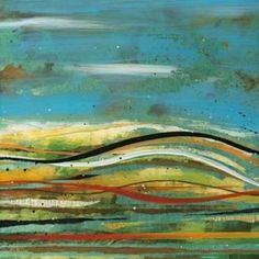 Posterazzi High Plains 4 Canvas Art - Scott Hile (24 x 24)