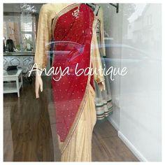 #saree #indian #ethnic wear #red velvet