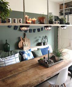 Schauen Sie sich Mijnhuis__enzo an Decoration idee deco interieur salon Home Living Room, Living Room Decor, Living Spaces, Kitchen Views, Interior Decorating, Interior Design, My New Room, Interior Inspiration, Sweet Home