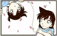 Uploaded by ♡. Find images and videos about detective conan, ran mouri and kudo shinichi on We Heart It - the app to get lost in what you love. Manga Detective Conan, Detective Conan Shinichi, Conan Movie, Detektif Conan, Ran And Shinichi, Kudo Shinichi, Magic Kaito, Detective Conan Wallpapers, Kaito Kid