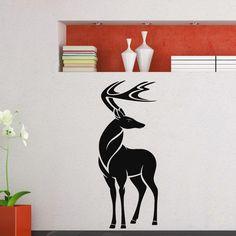 Deer Vinyl Wall Art Decal Sticker