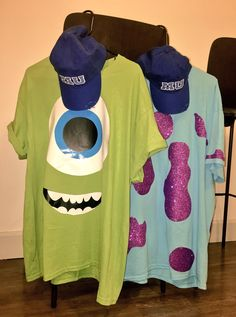 269347e3a Monsters Inc. Halloween Costume idea DIY Monsters Inc Costume Diy, Monster  Inc Costumes,