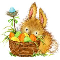 Photo about Easter bunny and Easter egg with garden decor. Illustration of gift, garden, artistic - 55719292