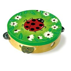 Beautifully coloured wooden tambourine with a delightful ladybird design. Comes in an attractive box. Musical Toys, Tambourine, Musicals, Coin Purse, Musical Theatre, Purse