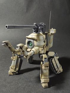 "Custom Build: 1/144 RB-79 Ball ""Ground Type Multi-legged Ball"" - Gundam Kits Collection News and Reviews"