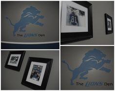 74b49cb4 7 Best Detroit Lions Bedroom Decor Ideas images in 2014 | Detroit ...