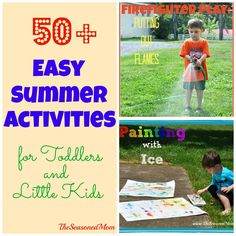 50+ Easy Summer Acti