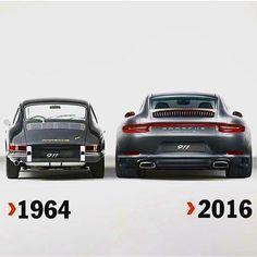 Warum ein Porsche von 1964 um soviel eleganter gestaltet ist!!!!!!! #Porsche