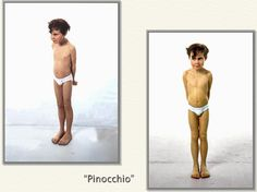 Ron Mueck hyperréalisme Pinocchio
