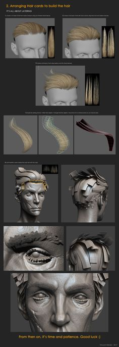 ArtStation - Howler Bust - Breakdowns, Vincent Ménier