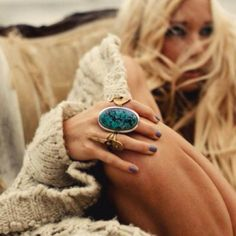 Turquoise and ring love