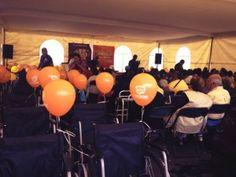 Fundación Big Bola realiza donaciones de sillas de ruedas para personas de bajos recursos.