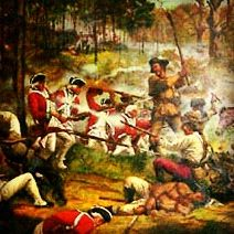 The Battle of Kings Mountain was a decisive battle between the Patriot and Loyalist militias in the Southern campaign of the American Revolutionary War. The actual battle took place on October 7, 1780, nine miles south of the present-day town of Kings Mountain, North Carolina in rural York County, South Carolina, where the Patriot militia defeated the Loyalist militia commanded by British Major Patrick Ferguson of the 71st Foot.