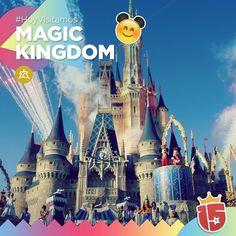 #Hoy con el grupo #doradoJ16 nos vamos al reino mágico de #WaltDisneyWorld!  Un lugar que guarda mucha fantasía!  #EstamosEnDisney con #Enjoy15