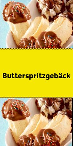 Butterspritzgebäck - New Site Cheesesteak, Biscotti, Cupcake Cakes, Muffins, Bakery, Cookies, Meat, Ethnic Recipes, Desserts