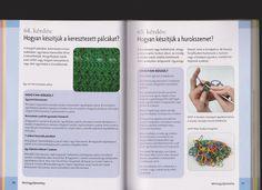 """Horgolásról csak magyarul.: 200 KÉRDÉS ÉS VÁLASZ """"alappálcáktól a befejezésig"""""""