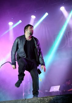 Chino Moreno of Deftones performs live for fans ...