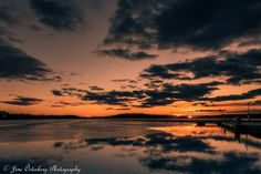 The sun goes down on Lake Lohja ... the final evening of March 2014.