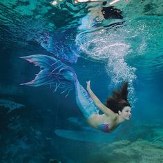 Weeki Wachee springs mermaid. Silicone mermaid tail by Finfolk Productions