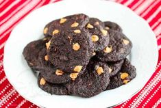 Chocolate Peanut Butter Chip Cookies ~ Use low carb sweeteners in place of the sugars.