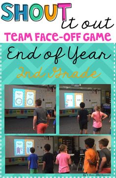 As the end of year approaches, I want to keep my students engaged and motivated! This team face-off game has been perfect, I have used it as review for the year! Perfect for an end of year party or when you have a few spare minutes! 2nd Grade Ela, 2nd Grade Teacher, Elementary Teacher, Elementary Education, Second Grade, Grade 2, End Of School Year, Beginning Of School, School Fun