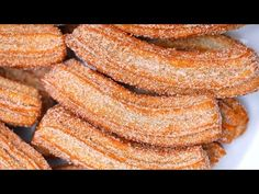 Churros la mejor receta - YouTube Churros, Foie Gras, Onion Rings, The Creator, Vegetables, Ethnic Recipes, Youtube, Food, Scrappy Quilts